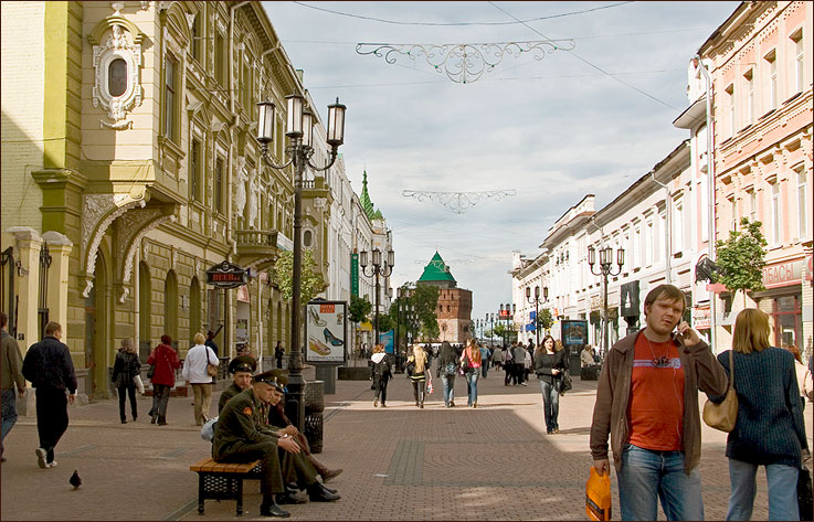 Большая покровская улица 2008 г фото